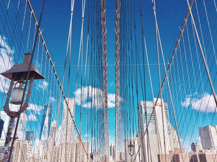 Brooklyn Bridge 💓 #NewYork #Brooklyn #travel