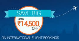 Save upto Rs.14,500 on International Flight Bookings #couponcode @Goibibo   Get this offer--->>http://couponoye.in/1gvWUju