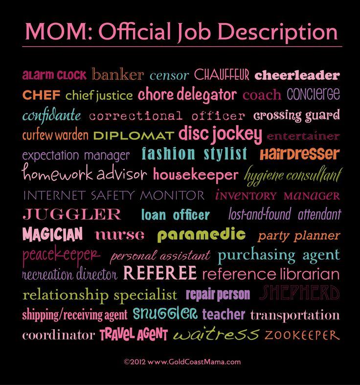 17 best images about Mum stuff – Purchasing Agent Job Descriptions