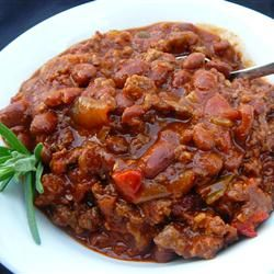 Boilermaker Tailgate Chili...★★★★★ Almost 3000 reviews. Good enough for me to salivate over :)