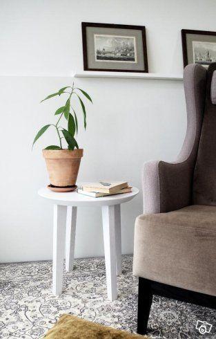 Nytt sidobord, stol, nattduksbord ALD-0049 | Stockholm