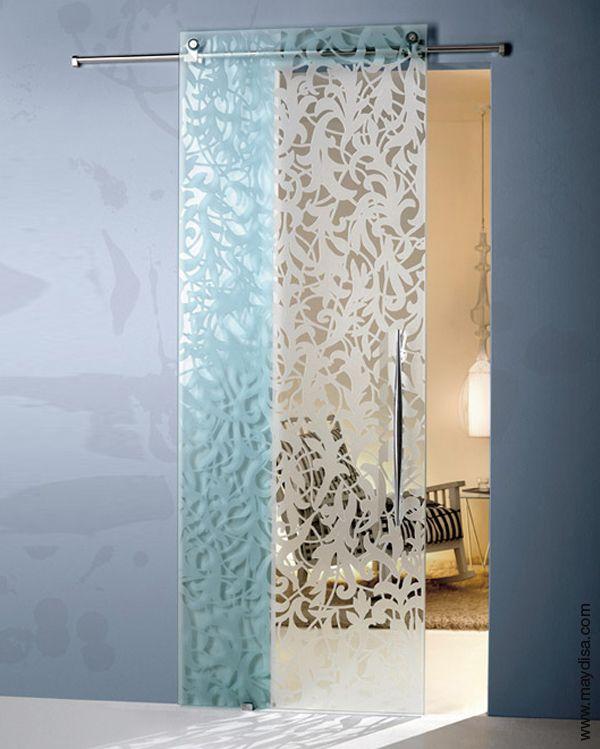 17 mejores ideas sobre puertas correderas de cristal en - Maydisa puertas correderas ...
