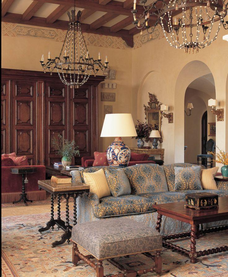Interiors / Portfolio Spanish style furniture, Spanish