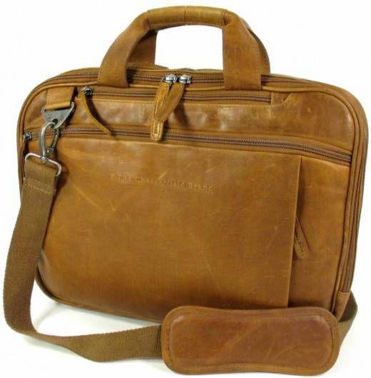 Chesterfield Heren aktetas Laptop tas George Pull up Cognac online kopen