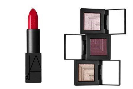 Guida al make up delle top. Rossetto rosso e ombretti nelle nuances naturali!