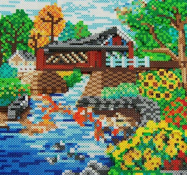 2405 best hama beads images on pinterest - Hama beads cuadros ...