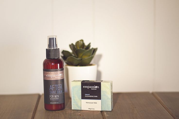 Empassion Natural has an entire Mens Range of delicious All Natural Australian Made Products! My hubby loves the Empassion Natural After Shave Balm - I love the way he smells afterwards too :)