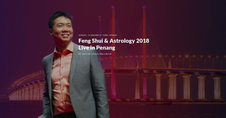 To Penang and beyond! Joey Yap has the answers for 2018!