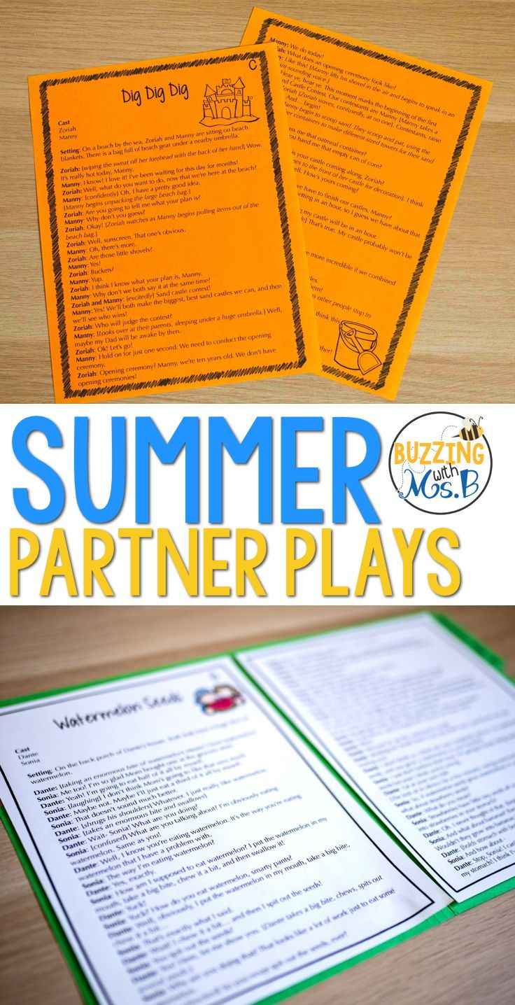 Keeping Readers Engaged At The End Of The School Year Is A Lot Of Work Take The Struggle Out Of Your Planni Teaching Drama Partner Plays Play Scripts For Kids [ 1436 x 736 Pixel ]