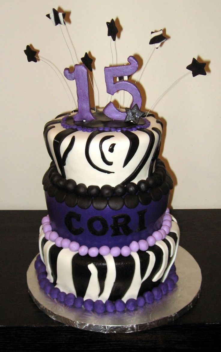 Birthday Cake For Teenage Girl Our Cakes Throughout The