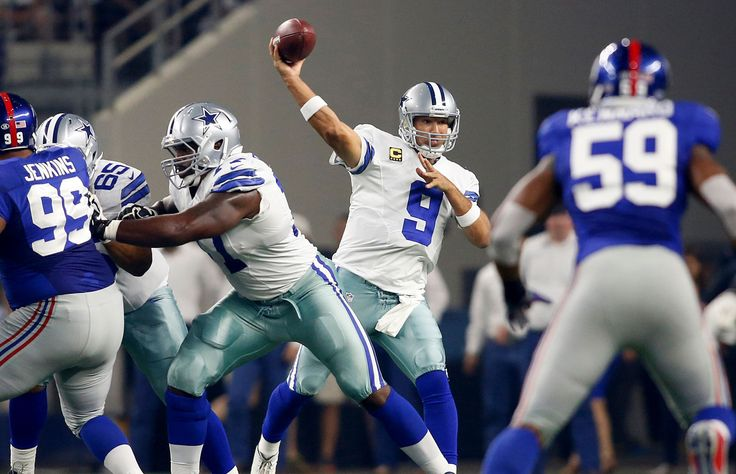 Dallas Cowboys quarterback Tony Romo throws the ball during a game against the New York Giants on Se... - Tim Heitman/USA TODAY Sports