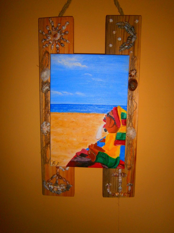 painting with my soul for a special friend-person-woman.. The rastaman <3