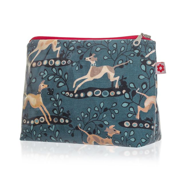Whippet design Oilcloth Washbag £18.00