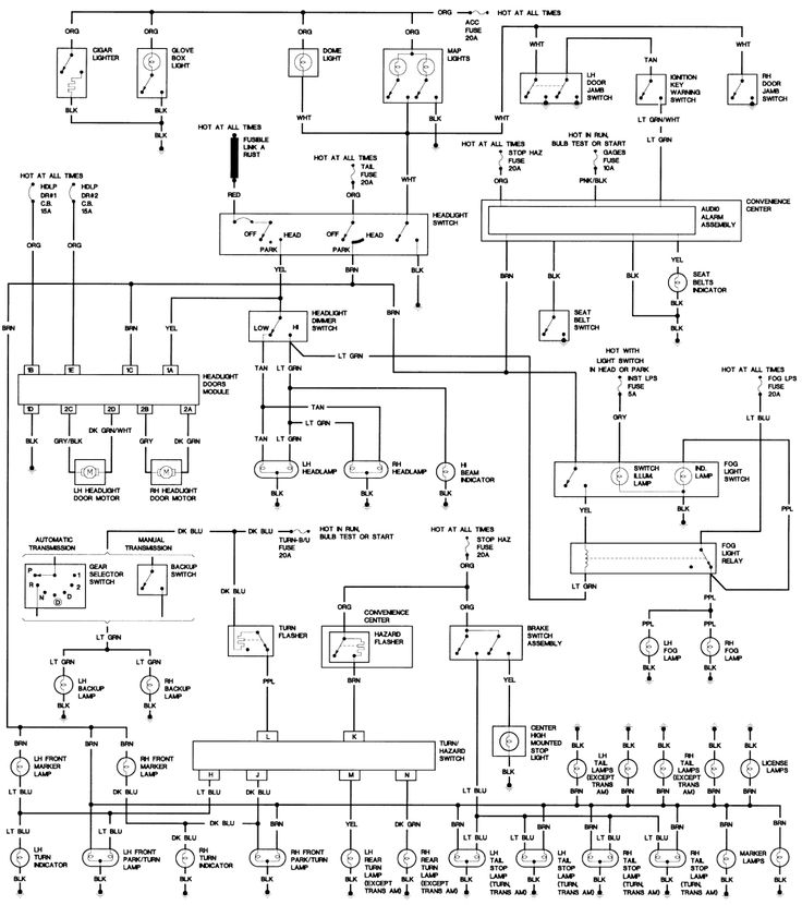 Fig50 1990 Body Wiring Gif 1 000 U00d71 129 Pixels