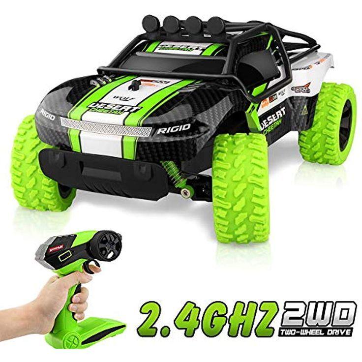 Baztoy Ferngesteuertes Auto Kinderspielzeug RC Stunt Offroad Auto mit FernbedienungHigh-Speed…