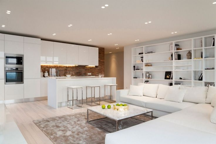 White Loft is a project completed by Kashuk Constantine in 2014. It is located in Kiev, Ukraine.