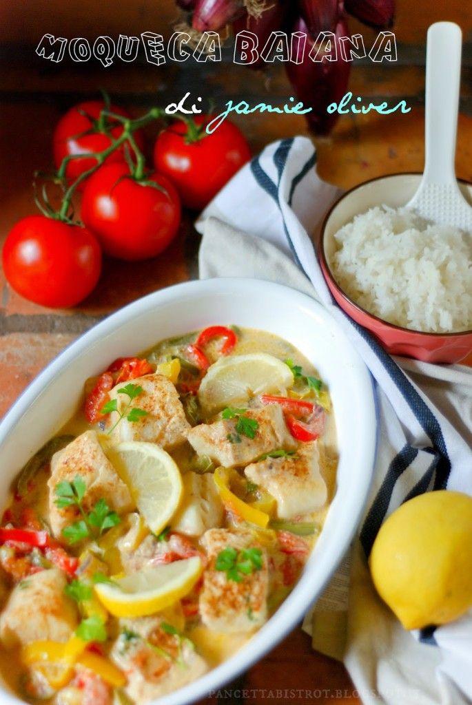 Moqueca baiana di Jamie Oliver (stufato di pesce brasiliano)