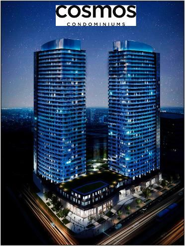 Cosmos Condos is a  25 to 35 storey mixed-use building in pre-construction development. Investors can take advantage.        #CosmosCondos