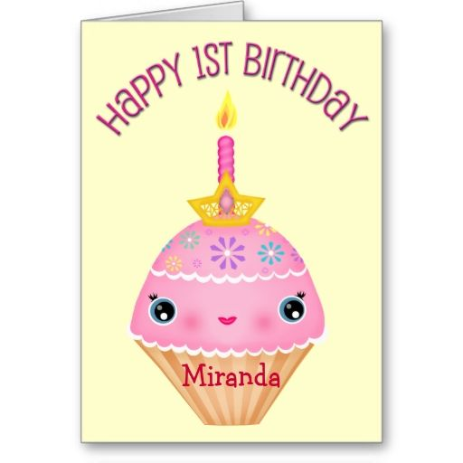 1648 best 1st Birthday Greeting Cards images on Pinterest Little - birthday cake card template