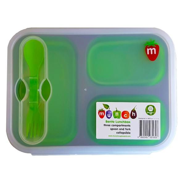 Munch Bento Lunch boxes https://www.munchcupboard.com/products/munch-collapsable-lunchboxes?variant=32196932174
