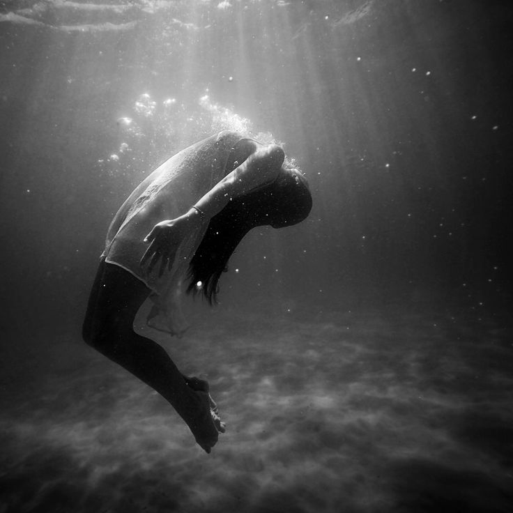 Under water. (Christopher Campbell)