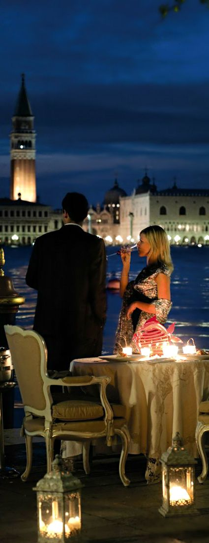 http://www.greeneratravel.com/ info@greeneratravel.com  Romantic Dinner at Hotel Cipriani Venice, Italy