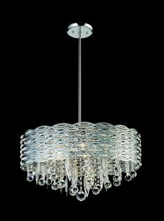 842CH from Adara collection, crystal chandelier