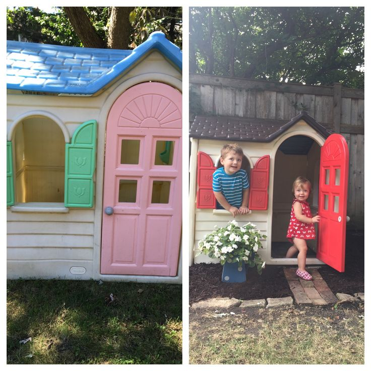 1000 ideas about plastic playhouse on pinterest for Cheap outdoor playhouses