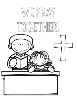 coloring pages for catholic preschoolers - photo#45
