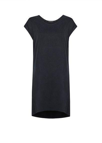 Cupro oversize dress