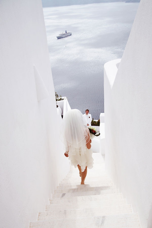Beautiful #Santorini, Greek Island. # Wedding