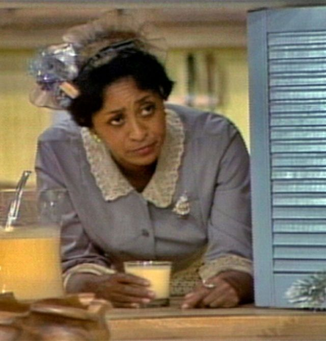 Marla Gibbs as Florence Johnston, the back-talking maid, on the The Jeffersons. She made that show.