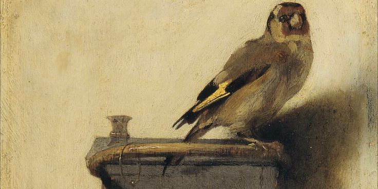 Recognize this dreamy, sullen bird? Come on, book nerd, this 17th century Dutch painting is just calling your name.