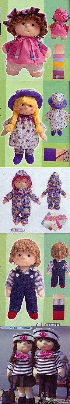 Cosamos muñecas bonitas ...