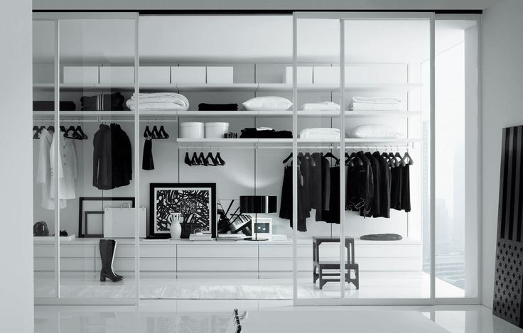Amazing Walk In Closets | accessories-and-furniture-beautiful-contemporary-white-walk-in-closet ...