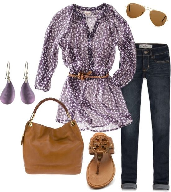 Spring Outfit. Cute shirt.