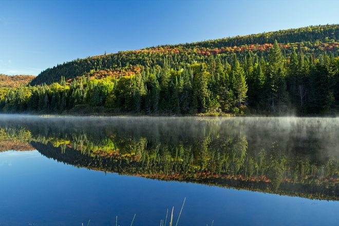 Lac Lajoie Parc national du Mont-Tremblant, Chemin du Lac Supérieur, Lac-Supérieur, QC