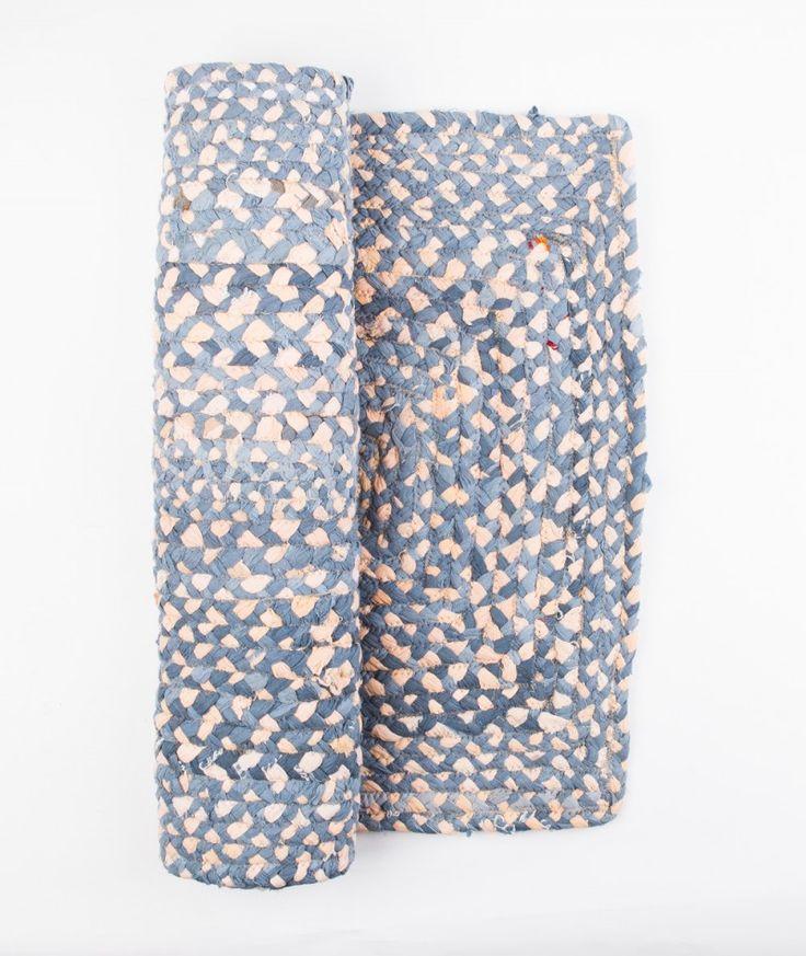 BLOOMINGVILLE Teppich beige/dusty blue - Geschenkideen - Kauf Dich gluecklich