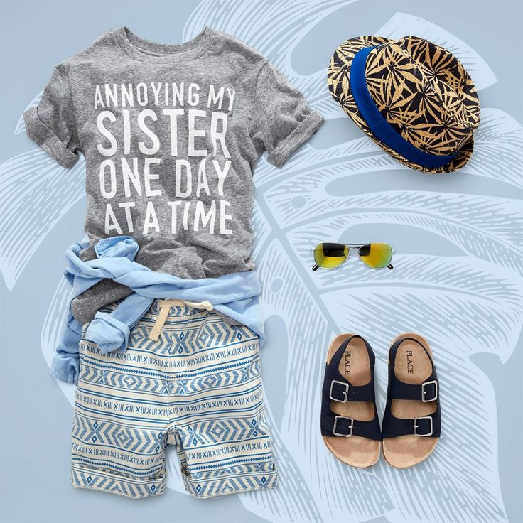 """Annoying my sister one day at a time"" 