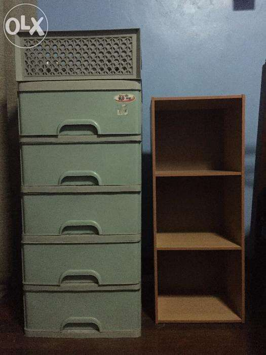 5 Layer Cabinet And 3 Rack For Sale Philippines