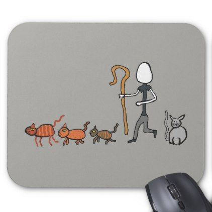 #Herding Cats Mouse Pad - #office #gifts #giftideas #business