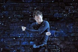 Jude Law (Hamlet) in Hamlet part of Donmar West End @ Wyndhams Theatre, London (Opening 3-06-09)