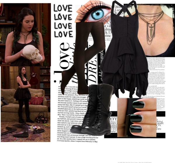 """Jade West."" by atjogia ❤ liked on Polyvore"