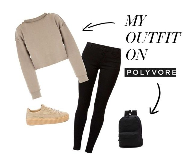 """""""city day"""" by christinentais on Polyvore featuring Dorothy Perkins, My Mum Made It, Puma and Vans"""