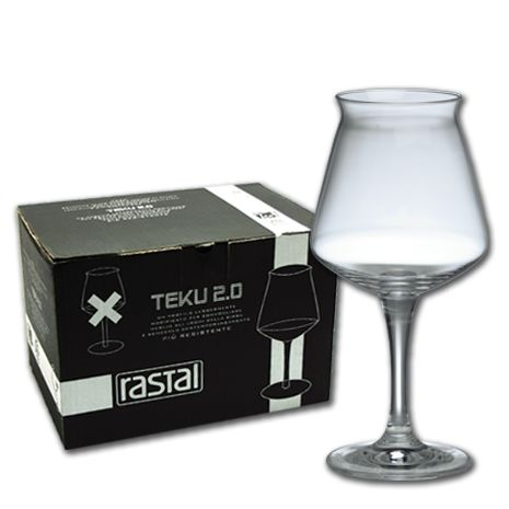 Teku | Baladin -- by Rastal, beautiful beer glasses.