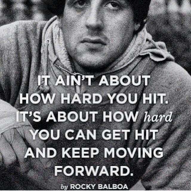 Rocky Balboa Life Is Hard Quote: 25+ Best Rocky Quotes On Pinterest