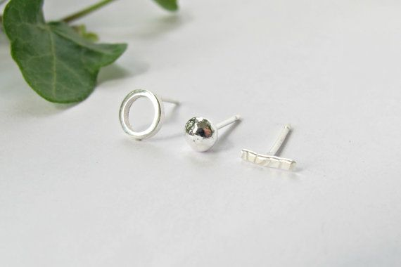 Mismatched Earring Set of 3 or 6 Mix and by WildFawnJewellery