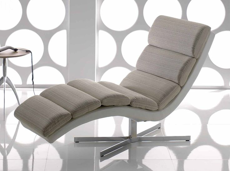 Modern Chaise Lounge Crystal by IL Benessere, Italy - $1,175.00