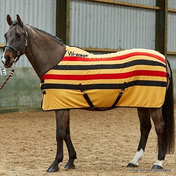 John Whitaker Holywell Fleece Stripe Rug This Whitaker rug is made of soft comfy and warm fleece material and comes in the classic yellow black and