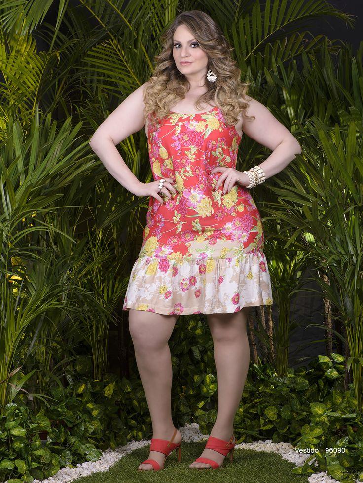 Moda verão 2015 para mulheres plus size (Foto: Divulgação)